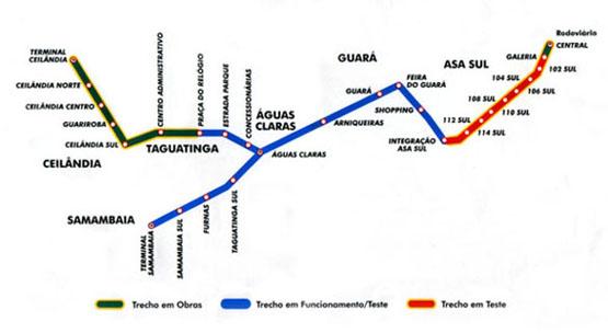 Brasília Metro : ブラジリア地下鉄