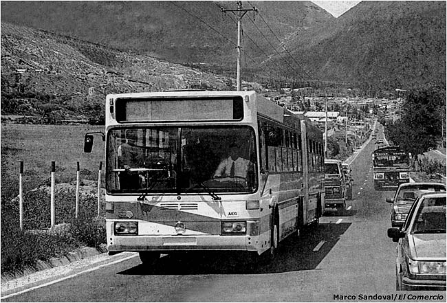 The Trolleybuses of Quito: Part 1
