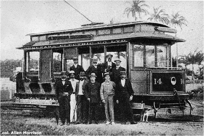 The tramways of guyana for West motor company kingston