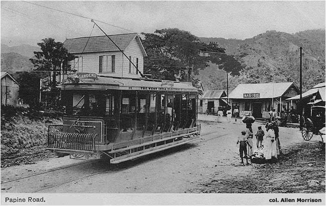 The Tramways Of Jamaica